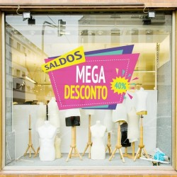 Vinil decorativo mega...