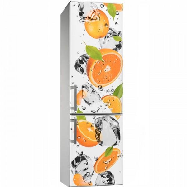 Vinil personalizado laranjas