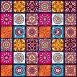 Autocolante de azulejo mandalas