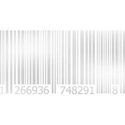 Vinil fosco código de barras