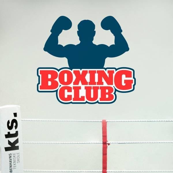 Adesivo boxing club