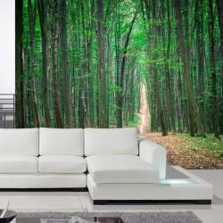 Mural árvores do bosque