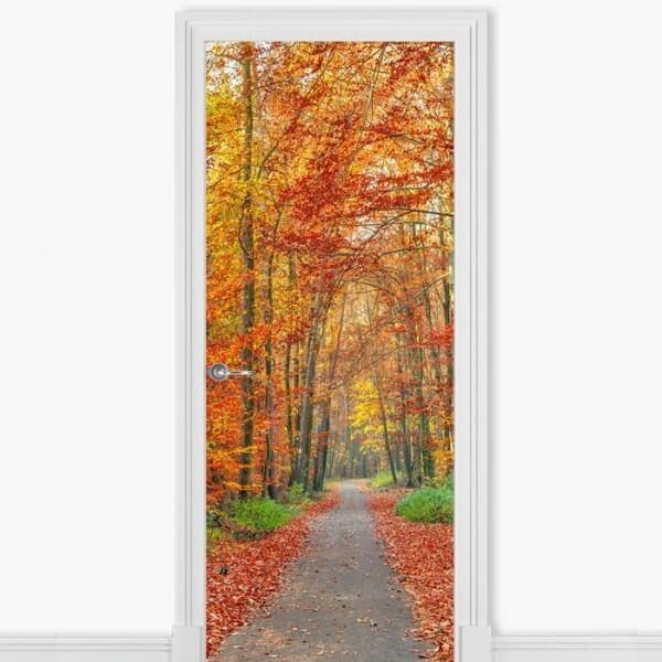 Autocolante porta de árvores