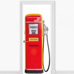 Autocolante bomba de gasolina